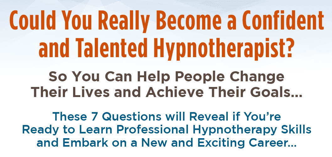 Become A Professional Hypnotherapist — An Exciting New ...